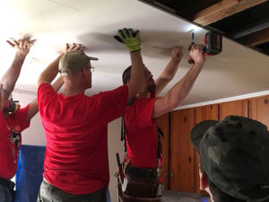 harvey relief ceiling repairs