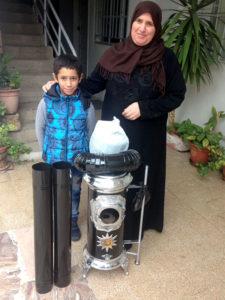 refugee winter heater help