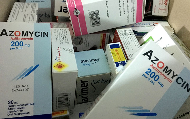 medicines for refugees May 2019