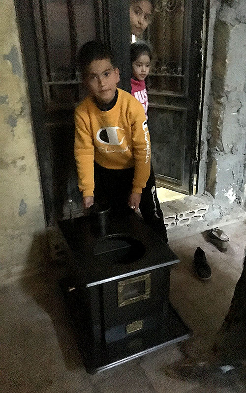 winter heaters for syrian refugees